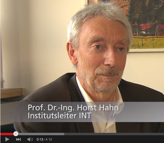 Nanoglass YouTube Video feature Professor Horst Hahn