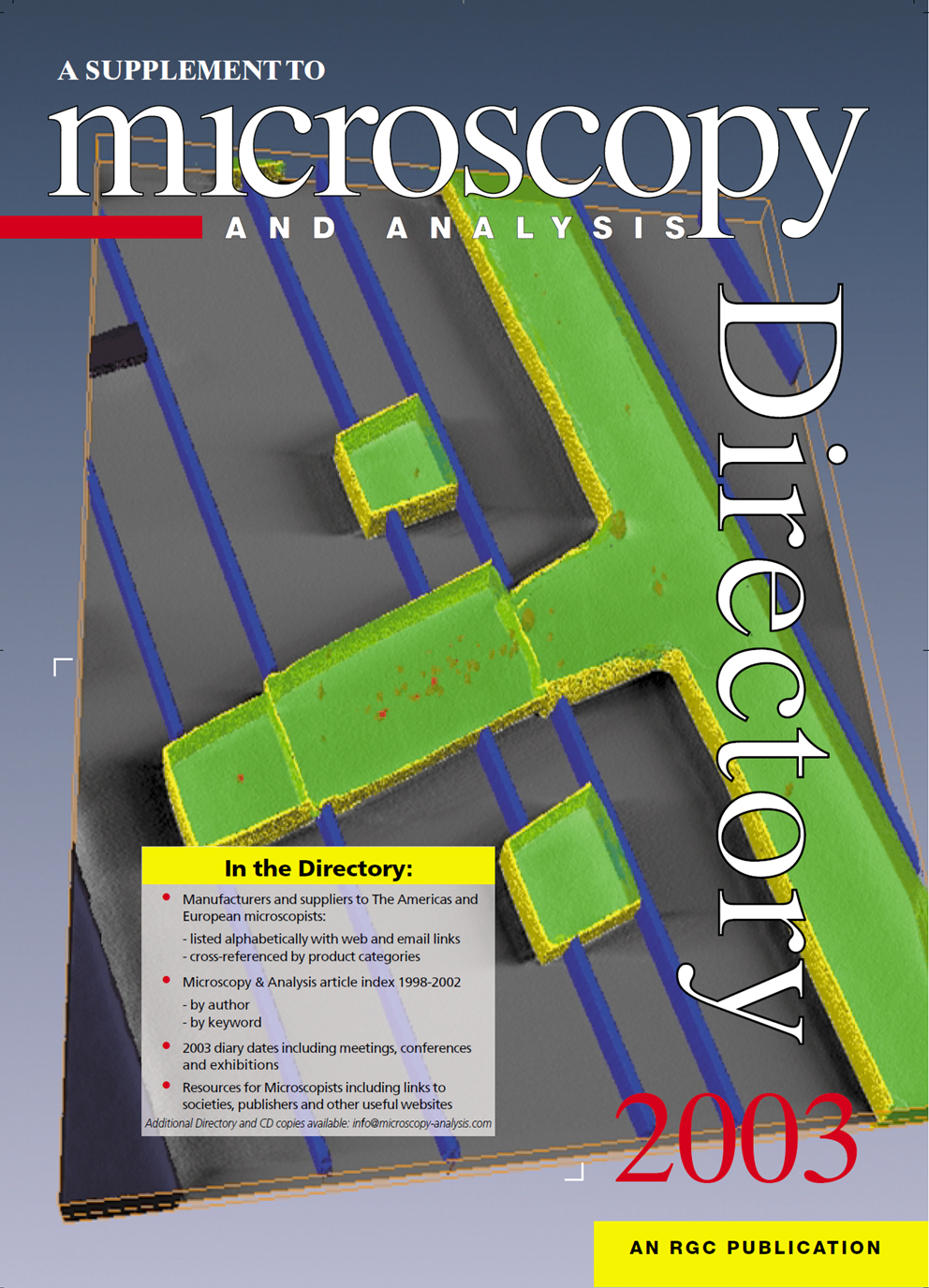 Microscopy Analysis Cover